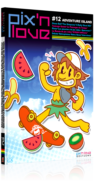 Pix'n Love #12 - Adventure Island