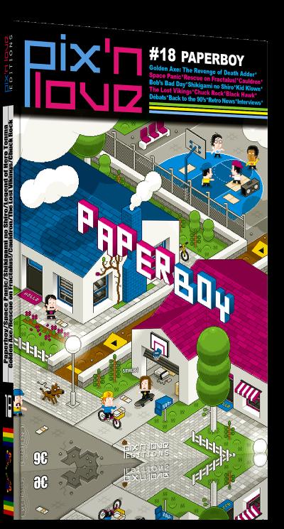 Pix'n Love #18 - Paperboy