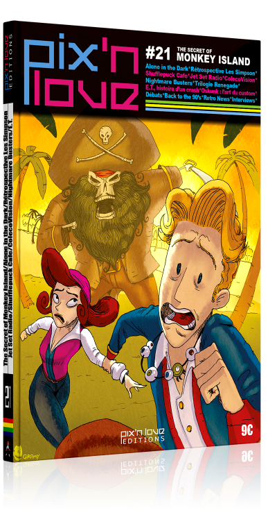 Pix'n Love #21 - Monkey Island