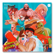 Street Fighter II - Soundtrack (4 vinyles)