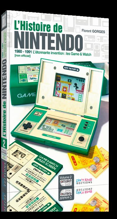 L'Histoire de Nintendo Vol.2 - Les Game & Watch