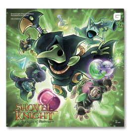 Shovel Knight - Plague of Shadows - Soundtrack (vinyle)