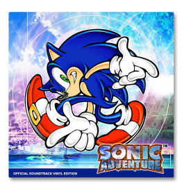Sonic Adventure - Soundtrack (2 vinyles)