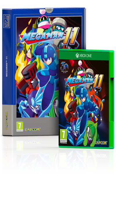 Mega Man 11 - Edition Collector Xbox One