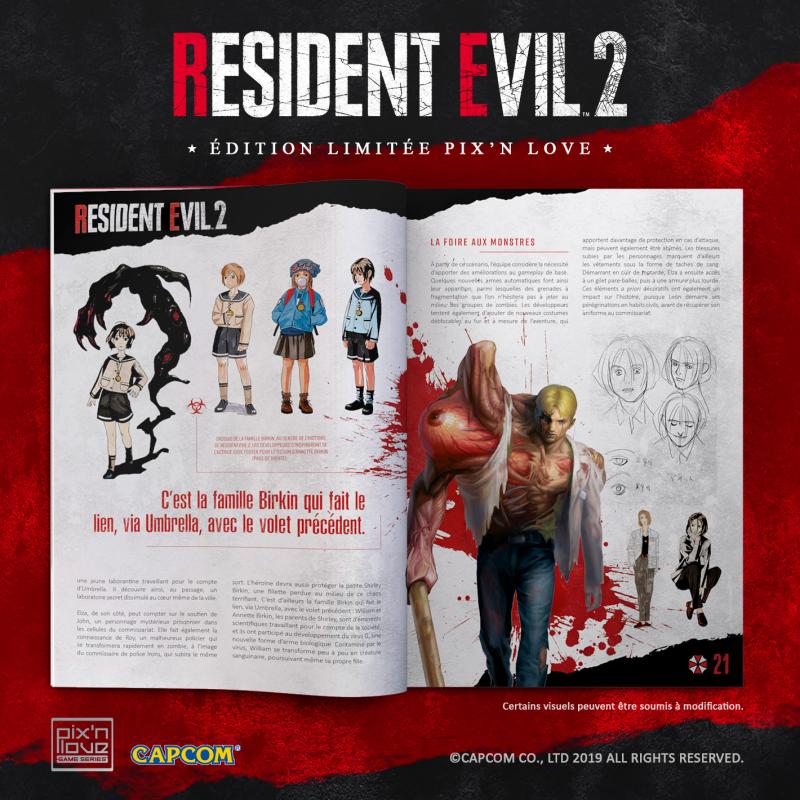 Resident Evil 2 - Edition Limitée PS4 - Pix'n Love