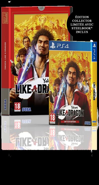 Yakuza: Like a Dragon - Edition Limitée PS4