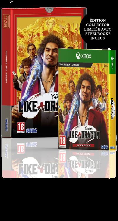 Yakuza: Like a Dragon - Edition Limitée Xbox