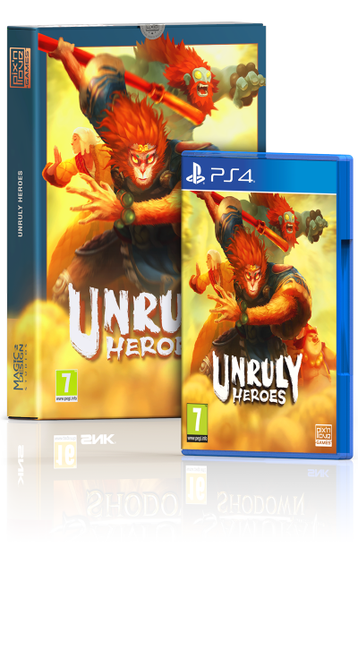 Unruly Heroes - Edition Limitée PS4