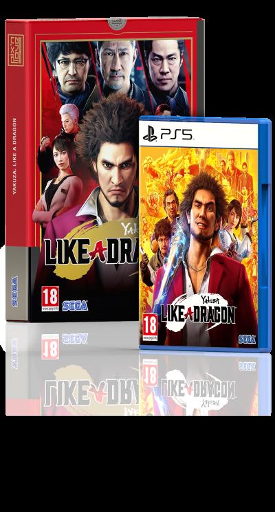 Yakuza: Like a Dragon - Edition Limitée PS5