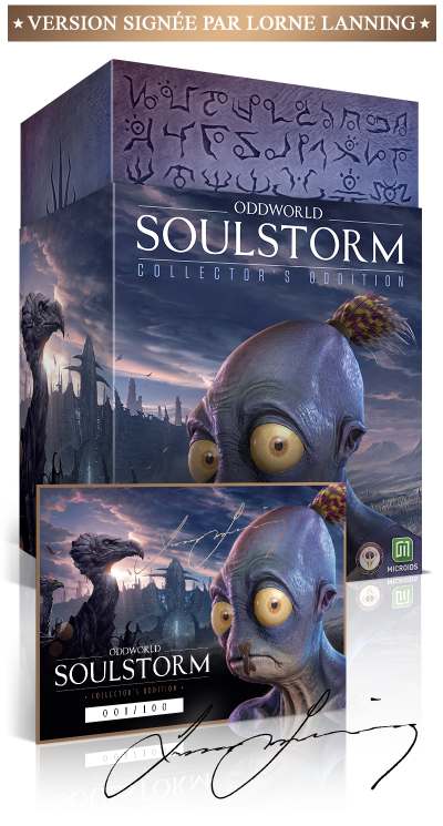 Oddworld Soulstorm – Collector's Oddition PS4™