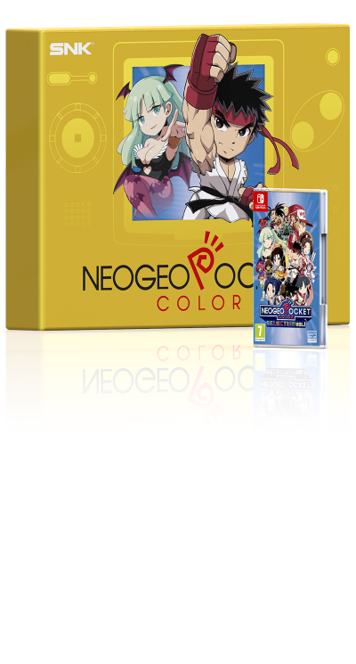 NEOGEO POCKET COLOR SELECTION Vol. 1 - Capcom Deluxe Edition (Switch)