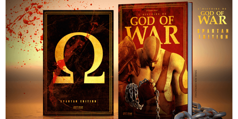 L'Histoire de God of War en précommande!