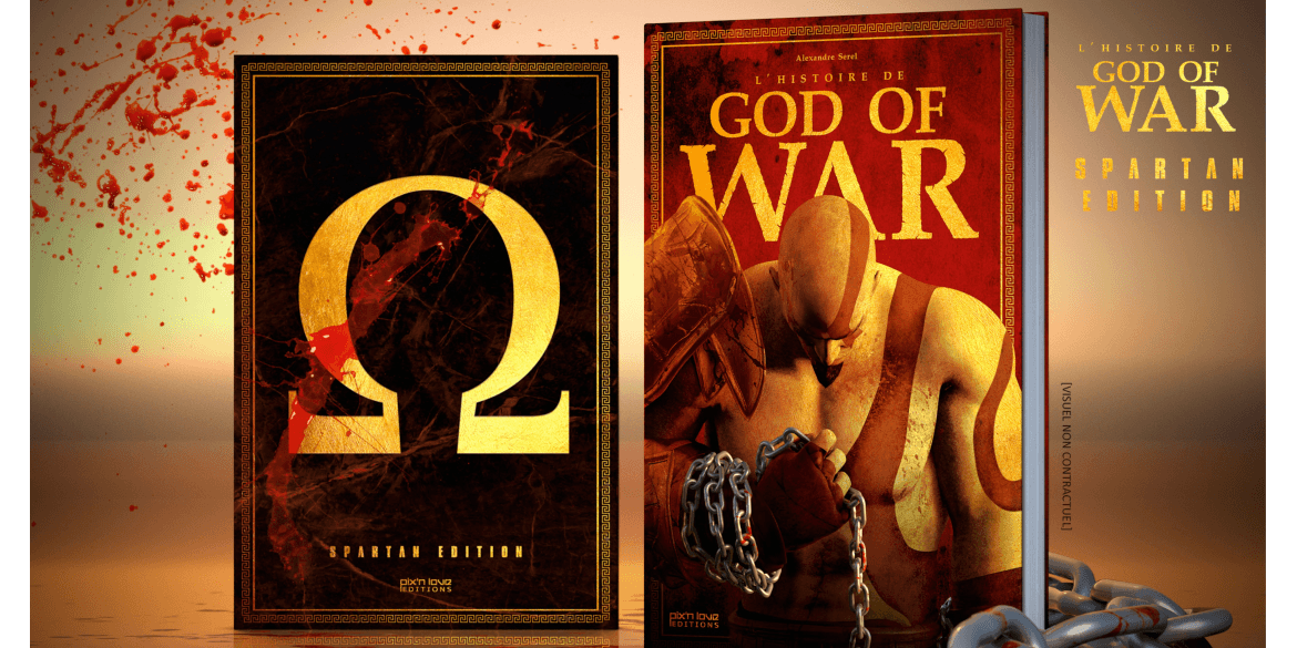 L'Histoire de God of War maintenant disponible !