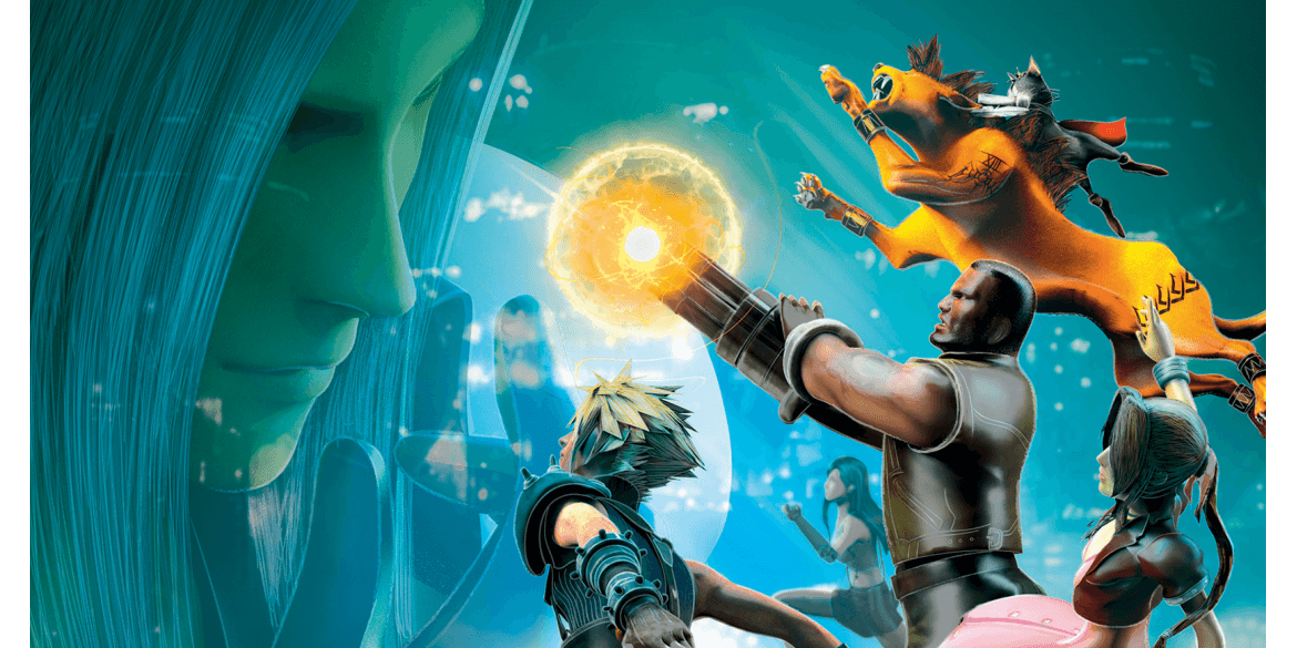Pix'n Love #33 - Final Fantasy VII est disponible