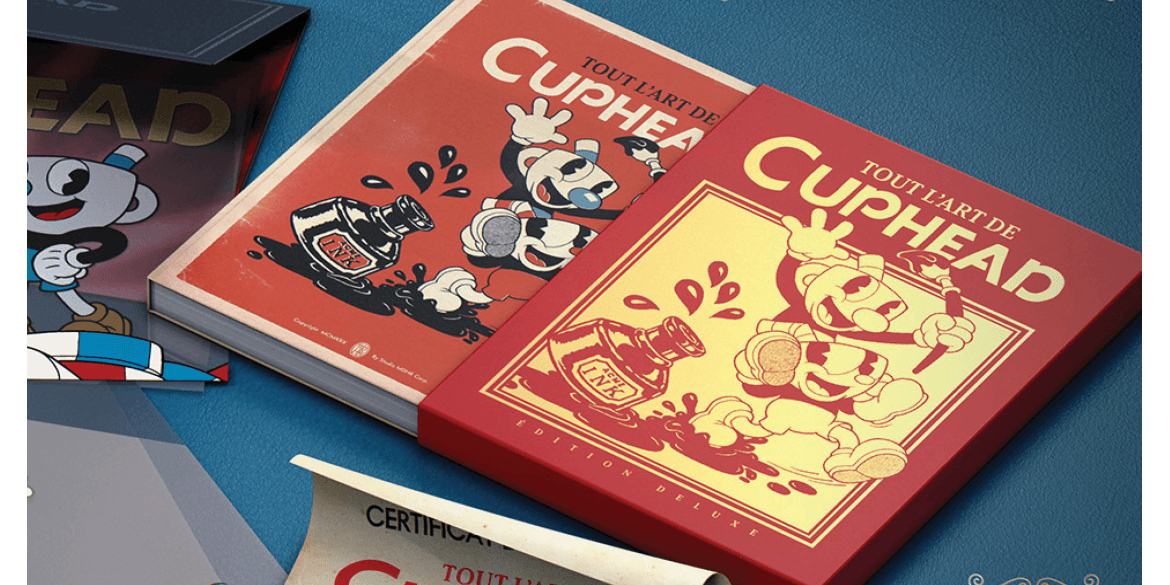 Tout l'art de Cuphead, l'artbook officiel disponible