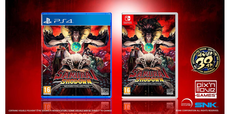 Samurai Shodown, la compilation Neo Geo sur PS4 et Switch